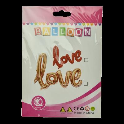 Balon LOVE 19x14cm