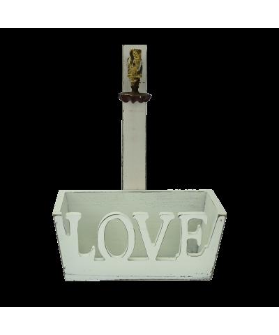 Pojemnik LOVE 22x11,5cm  - 1