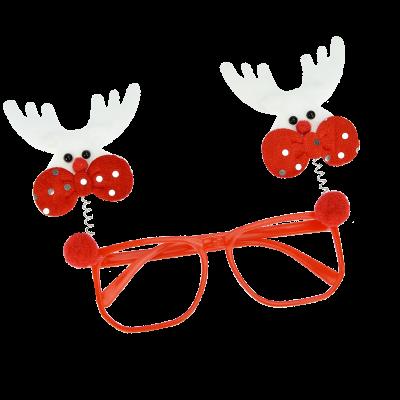 Okulary z reniferami