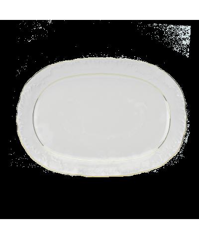 Serwis obiadowy Ćmielów ROCOCO 3604 Złoty Pasek 44el. Ćmielów - 2