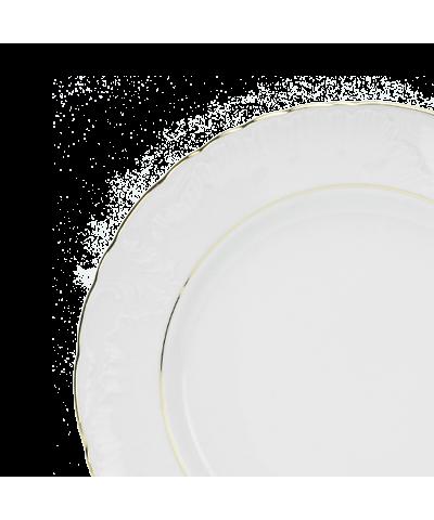 Serwis obiadowy Ćmielów ROCOCO 3604 Złoty Pasek 44el. Ćmielów - 12