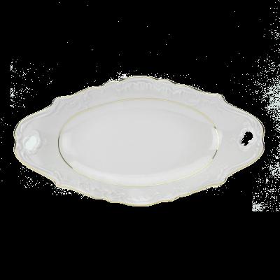 Serwis obiadowy Ćmielów ROCOCO 3604 Złoty Pasek 44el.