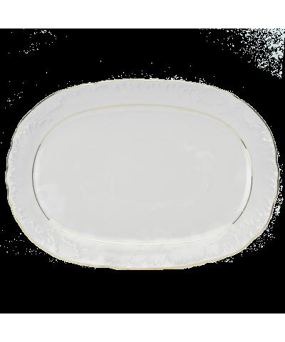 Serwis obiadowy Ćmielów ROCOCO 3604 Złoty Pasek 44el. Ćmielów - 9