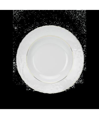 Serwis obiadowy Ćmielów ROCOCO 3604 Złoty Pasek 44el. Ćmielów - 10