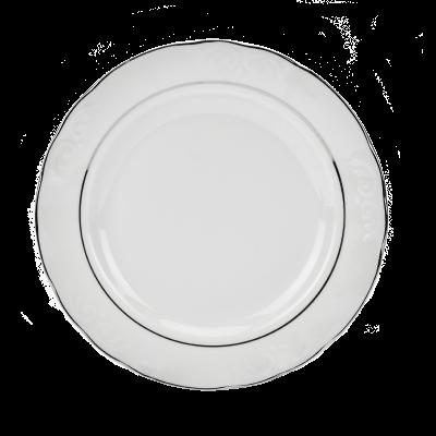 Serwis obiadowy 12/49 IRENA 2 platynowe paski - 9