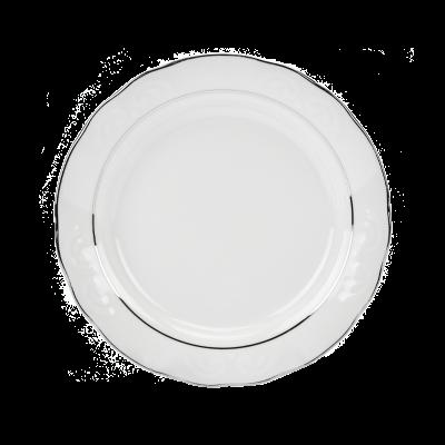 Serwis obiadowy IRENA platynowy pasek 12/49
