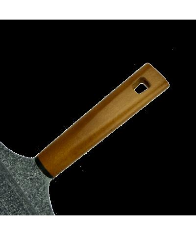 Patelnia grillowa granitowa LAVA STONE 24cm  - 5