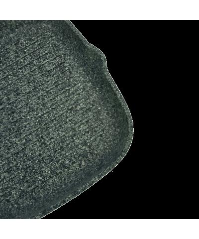 Patelnia grillowa granitowa LAVA STONE 24cm  - 6