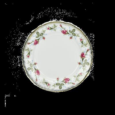 Komplet talerzy IRENA róża 6/18