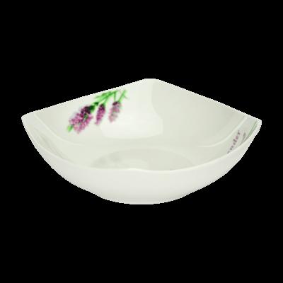 Komplet obiadowy LAWENDA 18-elementowy