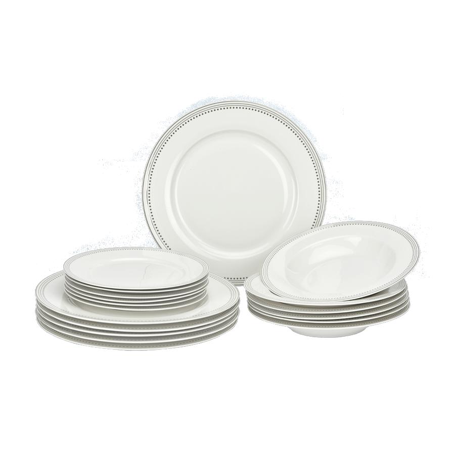 Komplet obiadowy LaNova 18-elementowy - 1