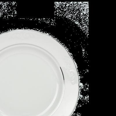 Komplet talerzy PLATYNOWY PASEK IRENA 6/18 - 5