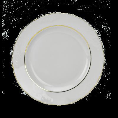 Serwis obiadowy 12/49 IRENA ZŁOTY PASEK - 3