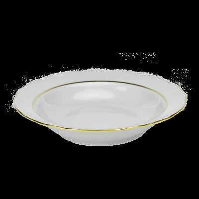 Serwis obiadowy 12/49 IRENA ZŁOTY PASEK - 9