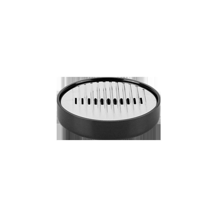 Podstawka pod mydło czarna LENOX 13cm
