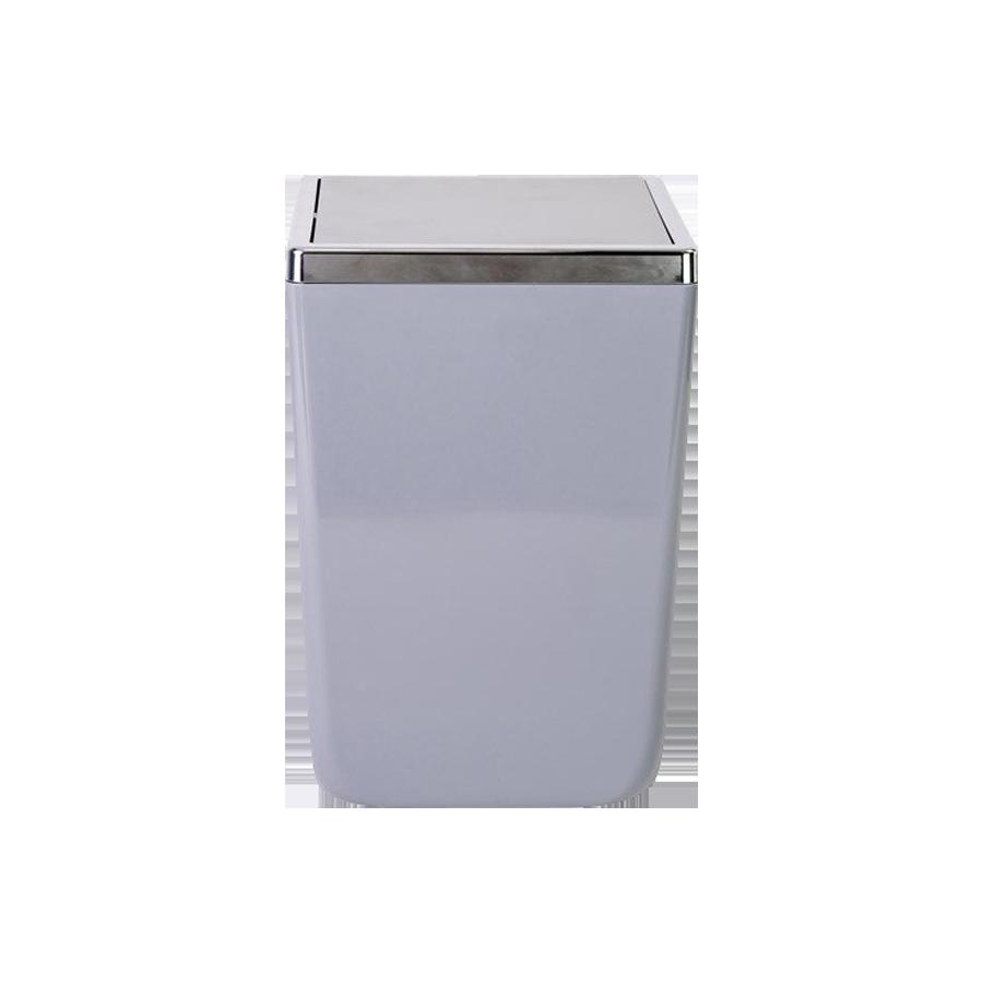 Kosz łazienkowy szary TOSKANIA 6l Stalman - 1