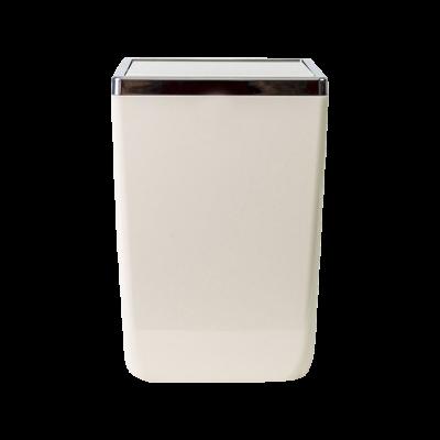 Kosz łazienkowy kremowy TOSKANIA 6l