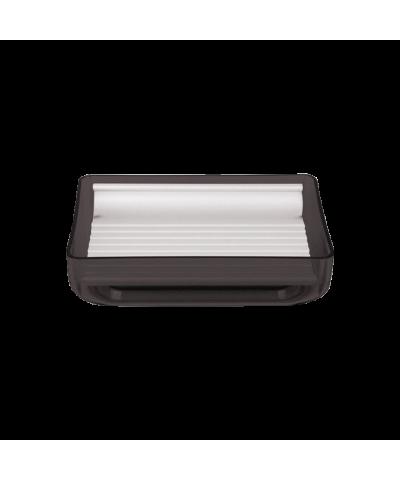 Podstawka pod mydło czarna LENOX 12cm Stalman - 1