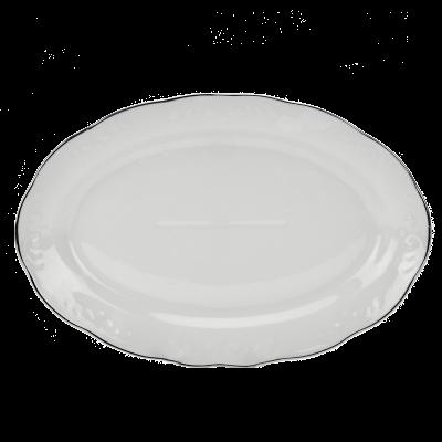 Półmisek IRENA platynowy pasek 31,5cm