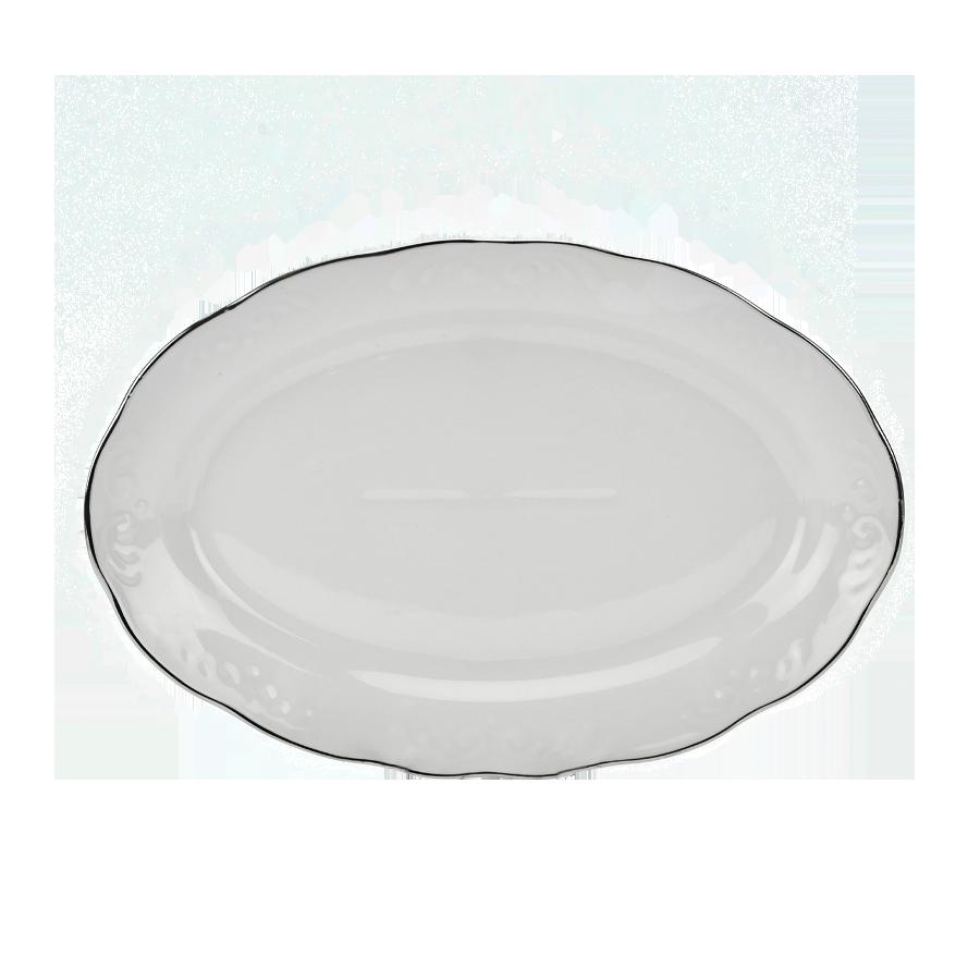 Półmisek IRENA platynowy pasek 31,5cm - 1