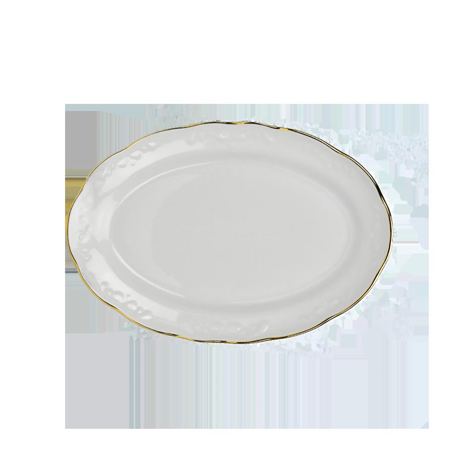 Półmisek IRENA złoty pasek 31,5cm - 1