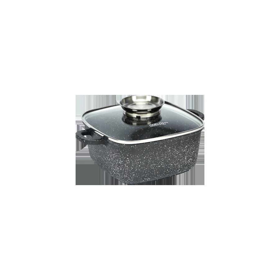 Garnek granitowy z powłoką greblonową 20cm - 1