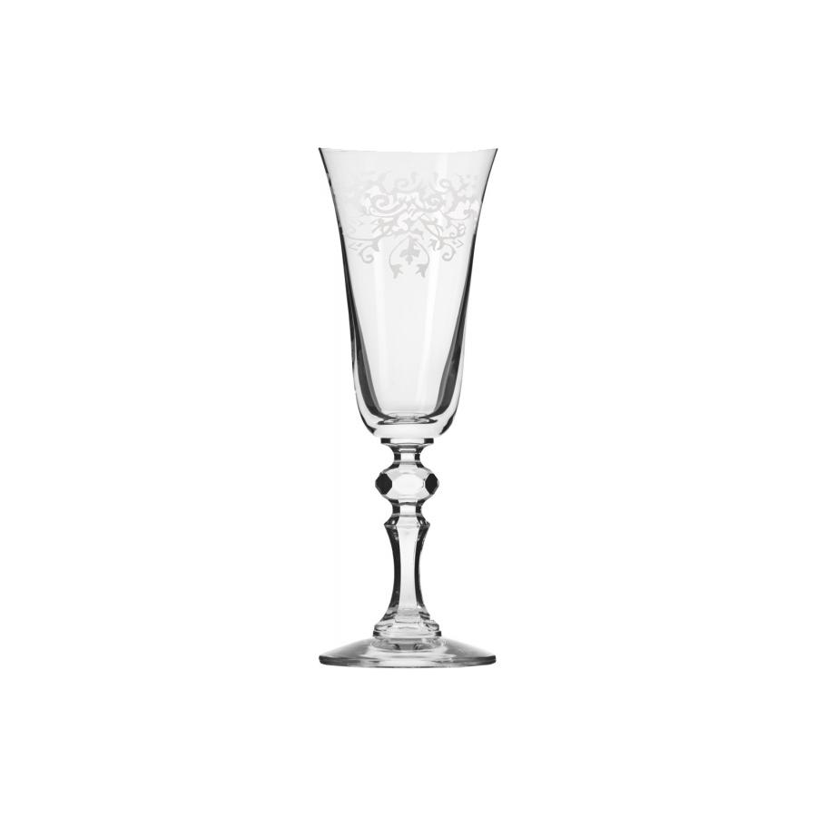Komplet 6 kieliszków do szampana KRISTA DECO KROSNO 150ml