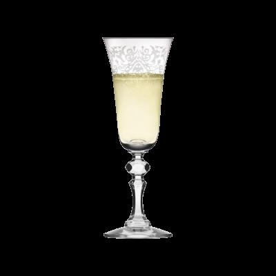 Komplet 6 kieliszków do szampana KRISTA DECO KROSNO 150ml Krosno - 2