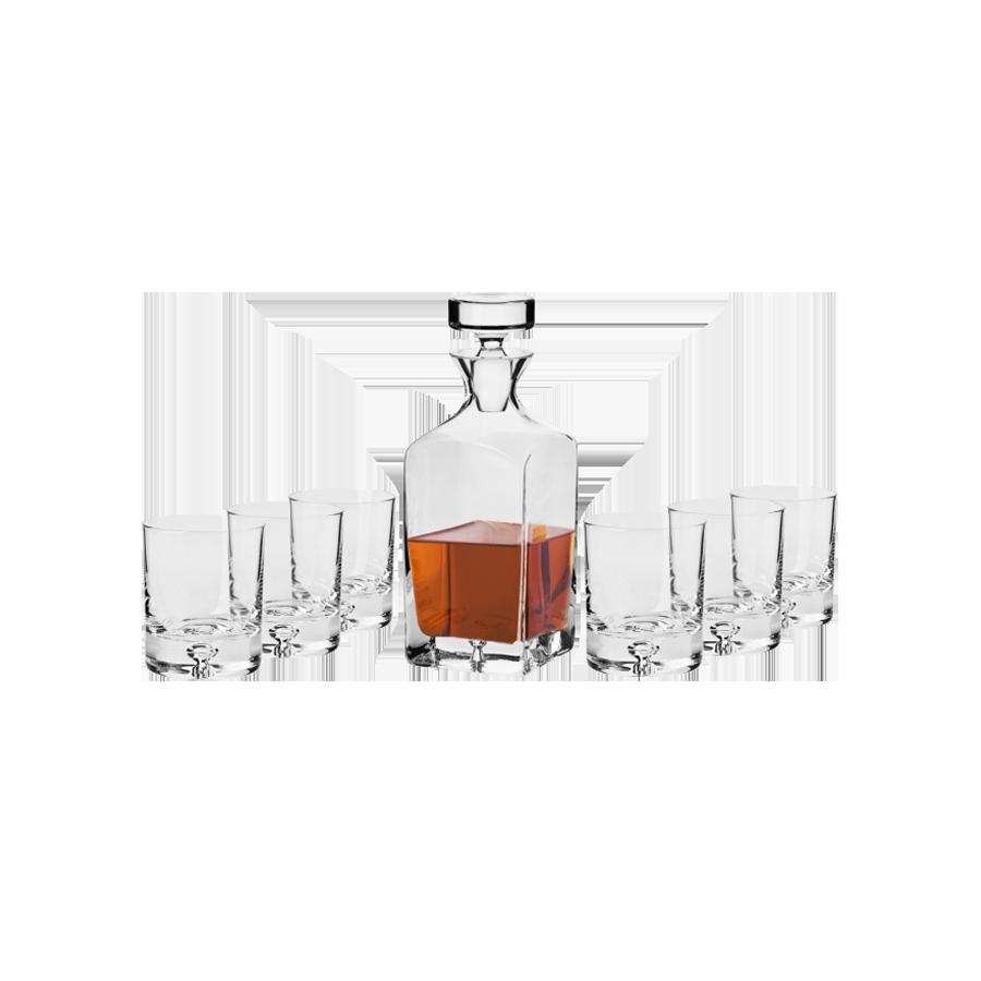 Komplet do whisky SAGA LEGEND KROSNO 7-częściowy - 1