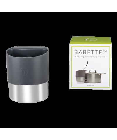 Pojemnik stalowy na chochle/łyżki BABETTE DARK GREY ZWIEGER - 1