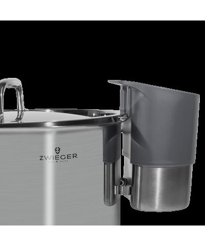 Pojemnik stalowy na chochle/łyżki BABETTE DARK GREY ZWIEGER - 3