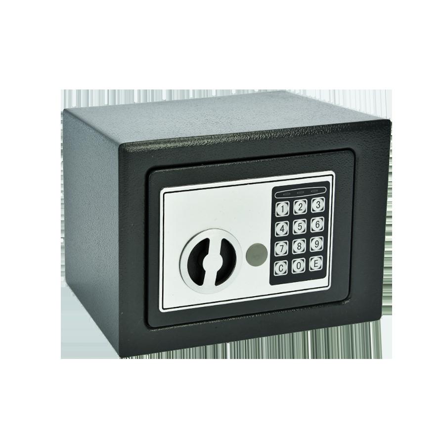 Sejf na szyfr elektroniczny + klucz - 1