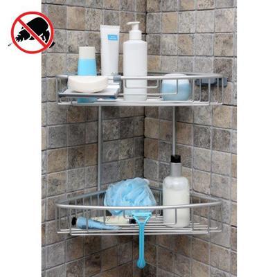 Półka prysznicowa narożna 2-poziomowa PALOMA Stalman - 1