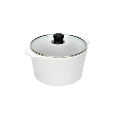 Naczynie ceramiczne żaroodporne + pokrywka 5l - 2