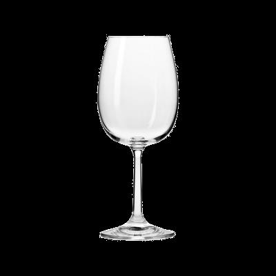 Komplet 6 kieliszków do wina czerwonego BASIC 350ml