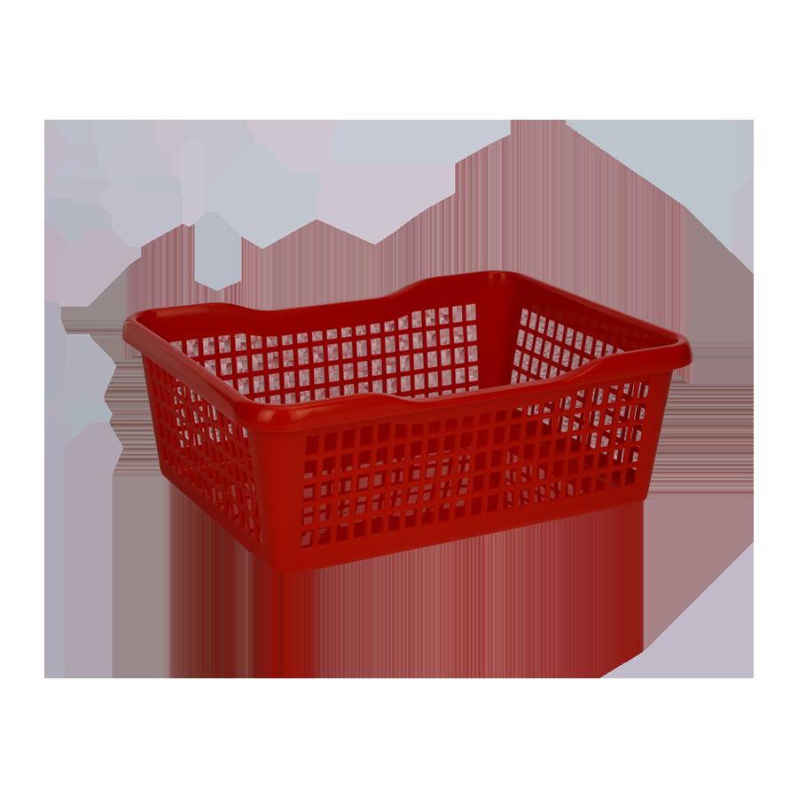 Koszyk plastikowy 35,5x26,5x13cm - 2