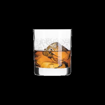 Komplet 6 szklanek do whisky KRISTA DECO 300ml Krosno - 2