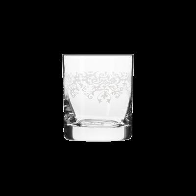 Komplet 6 szklanek do whisky KRISTA DECO 300ml Krosno - 1