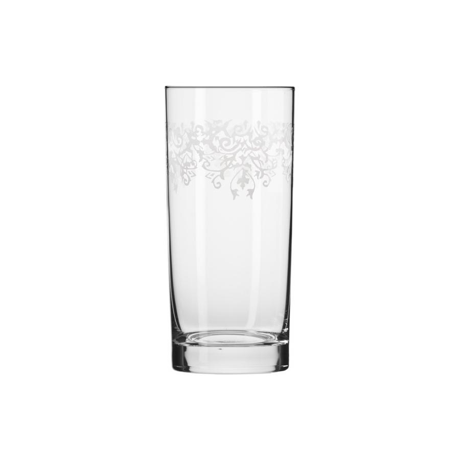Komplet 6 szklanek PRESTIGE KRISTA DECO KROSNO 350ml