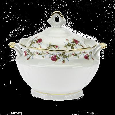 Waza do zupy IRENA kwiaty 3-litrowa