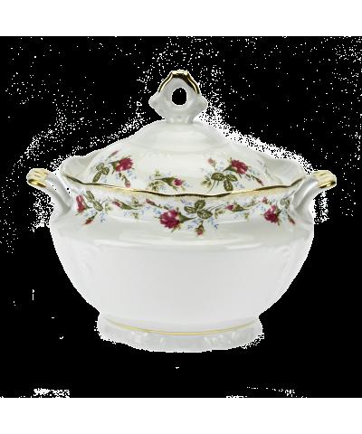 Waza do zupy IRENA KWIATY 3-litrowa  - 1