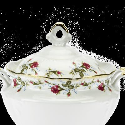 Waza do zupy IRENA KWIATY 3-litrowa - 3