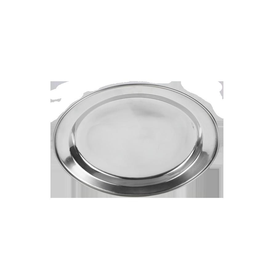 Taca nierdzewna głęboka owalna 25cm PRYMUS AGD - 1
