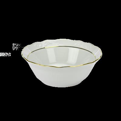 Salaterka IRENA złoty pasek 20cm