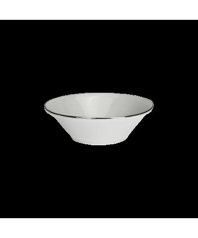 Salaterka IRENA platynowy pasek 17cm - 1