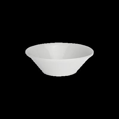 Salaterka IRENA biała 17cm