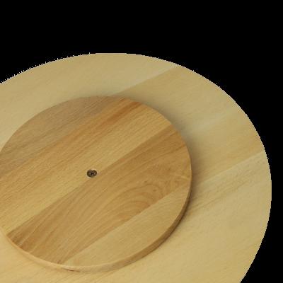 Deska obrotowa z drewna 25cm - 2