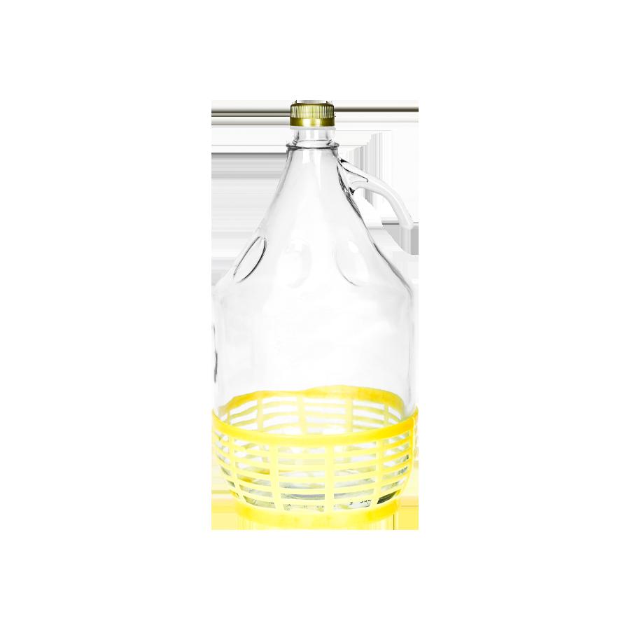 Balon w koszu z zakrętką 5l - 1