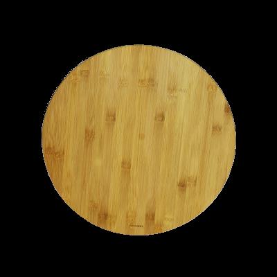 Taca obrotowa z drewna bambusowego 35cm