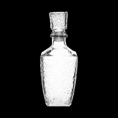 Karafka szklana z grubego szkła TRAGAR 850ml